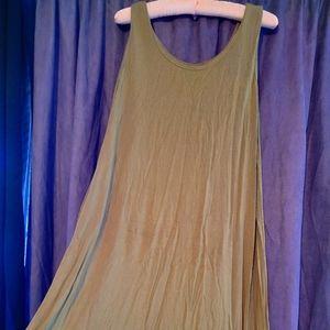 Atara Thai Tank Style Jersey Dress